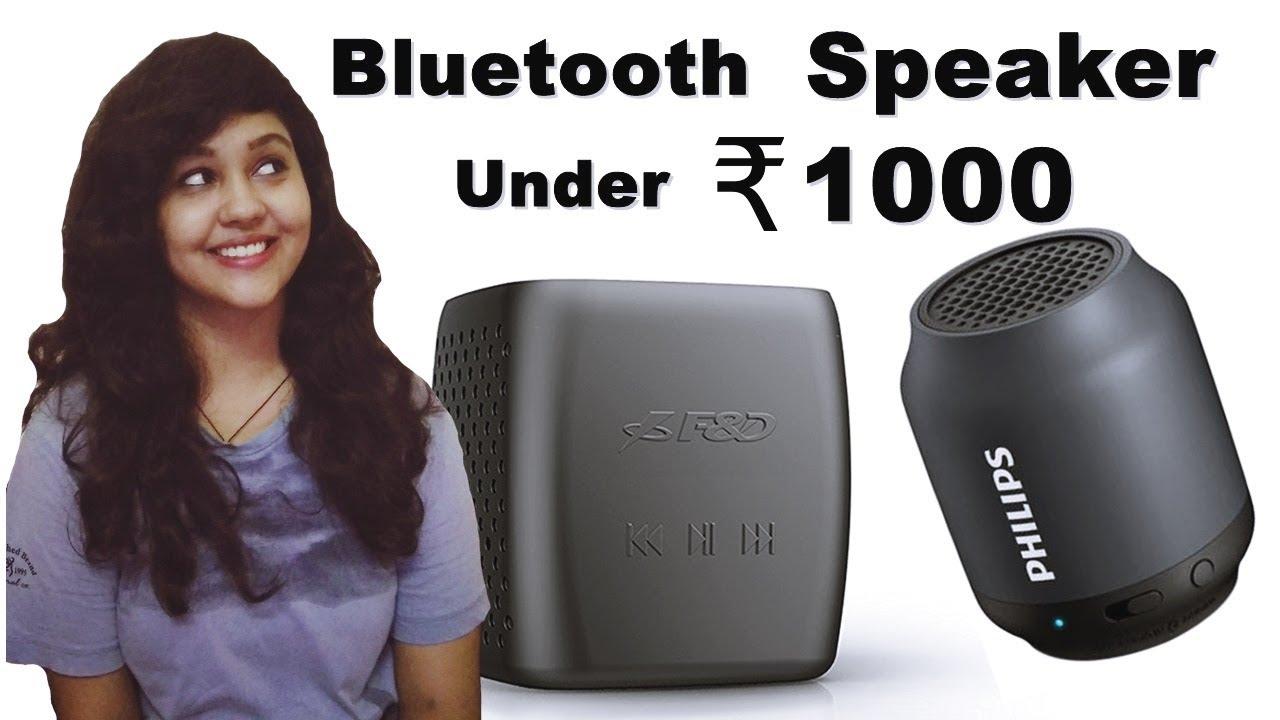 Top 5 Best Wireless Bluetooth Speaker Under 1000 Rs Best Wireless Speakers Youtube