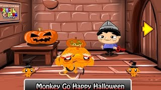 Monkey Go Happy Halloween - walkthrough