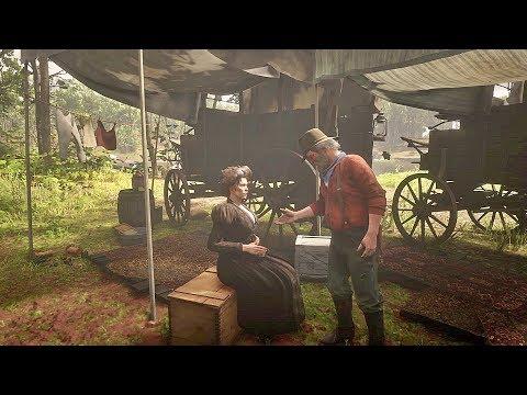 Uncle ask Susan Grimshaw to a Date / Hidden Dialogue / Red Dead Redemption 2 thumbnail
