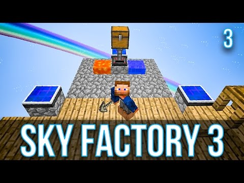 how to make obsidian generator sky factory 3