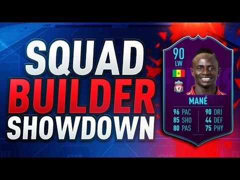 FIFA 19  SQUAD BUILDER SHOWDOWN vs AJ3  POTM SADIO MANE