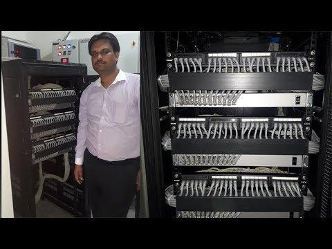 Network Rack Installation   Patch Panel   HP POE Network Switch Tech Guru Manjit  Part - 1