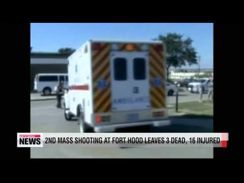 Shooting at Fort Hood leaves 3 dead, 16 injured