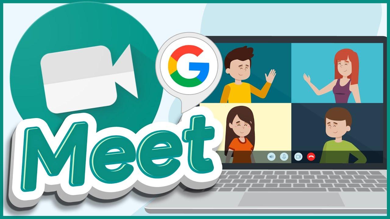 🟠Crea una VIDEOLLAMADA con tus alumnos desde CLASSROOM con GOOGLE MEET 📹  Para PROFES y ALUMNOS - YouTube