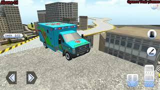Ambulans sesi yeni City ambulance Ambulans siren sesi Real police Car Çizgi film Doru izle yeni #138