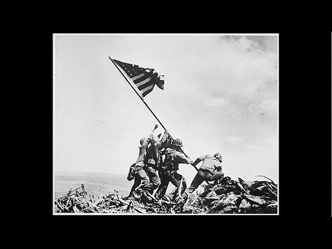 Witnessing the flag-raising at Iwo Jima: 100 Years of Heroes