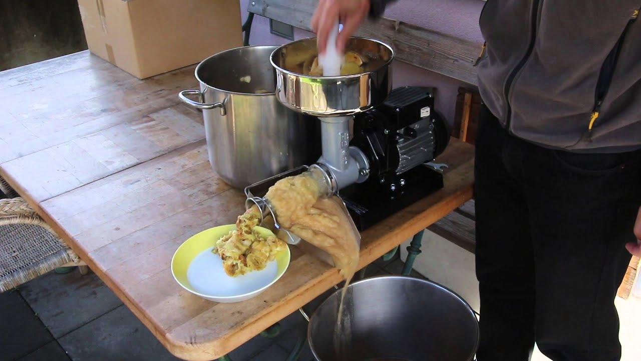 P pineuse pour production de compote de pommes youtube - Machine pour ramasser les pommes ...