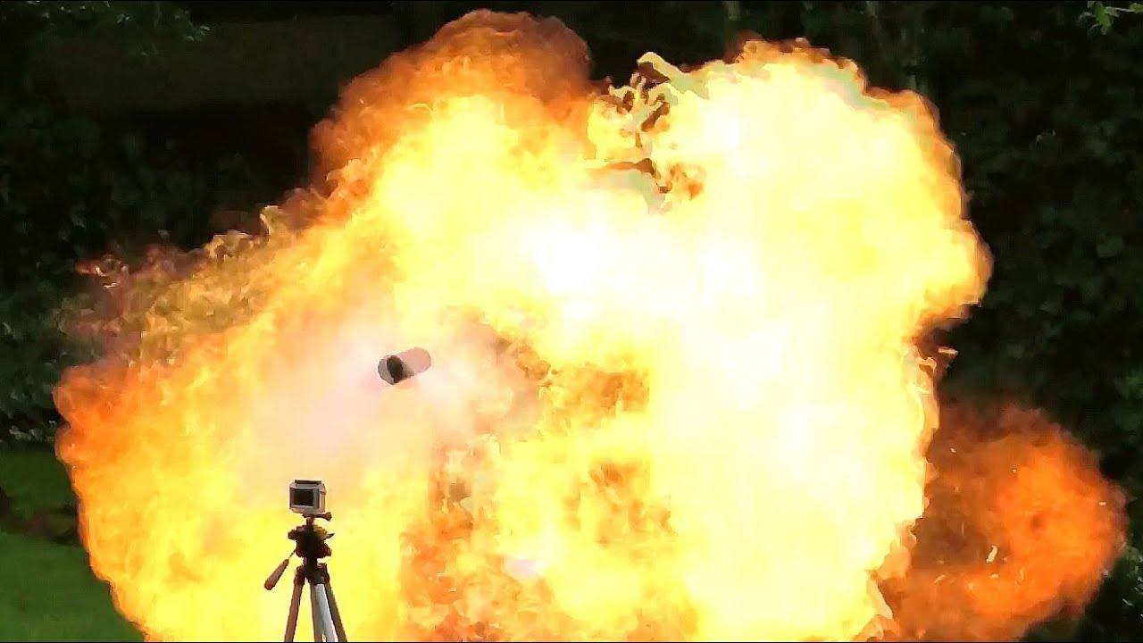 Aerosol Explosions Exploding Deodorant Can Bombs Youtube