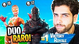 DUO VS SQUAD WITH RARER SKINS! -FORTNITE