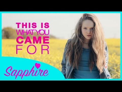 This Is What You Came For - Calvin Harris ft. Rihanna | Cover by 13 y/o Sapphire