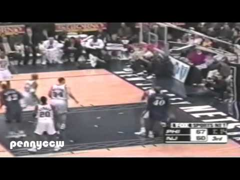 Allen Iverson ALL Three Pointers in 2000-2001 NBA Season
