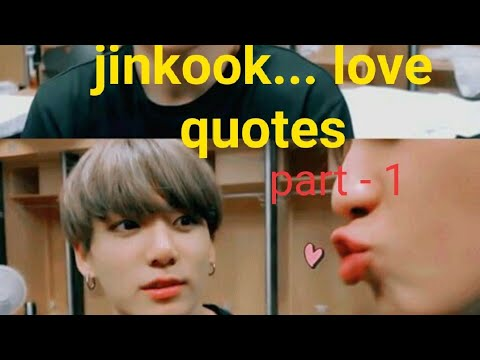 Jinkook moments with jealousy quotations part -1 🥰😍
