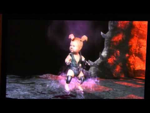 Sonya Blade Babality Mortal Kombat 9 MK9