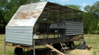Chicken Coop Cotton Trailer Part 04 In Elgin Texas With Organic Mike