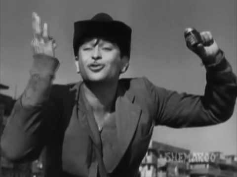 Shree 420 - Raj Kapoor - Nargis - Nadira - Rajs Patriotic Speech - Best Drama Scenes
