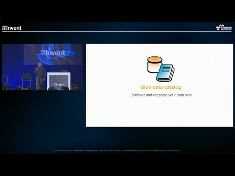 AWS re:Invent 2016: AWS Glue Data Catalog