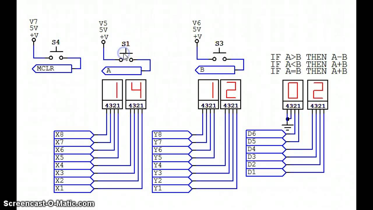 7 Segment Decoder Truth Table Bit Binary To Bcd Converter Circuit 8 2 Bcdgif