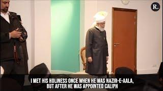 Hundreds of Ahmadi Muslims in Holland meet the Caliph