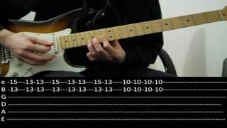 RHCP - This Velvet Glove (lesson w/ tabs)