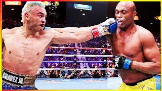 Julio Cesar Chavez Jr. vs Anderson Silva PRE-FIGHT TALE
