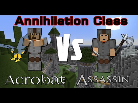 Minecraft Annihilation - Acrobat Vs Assassin