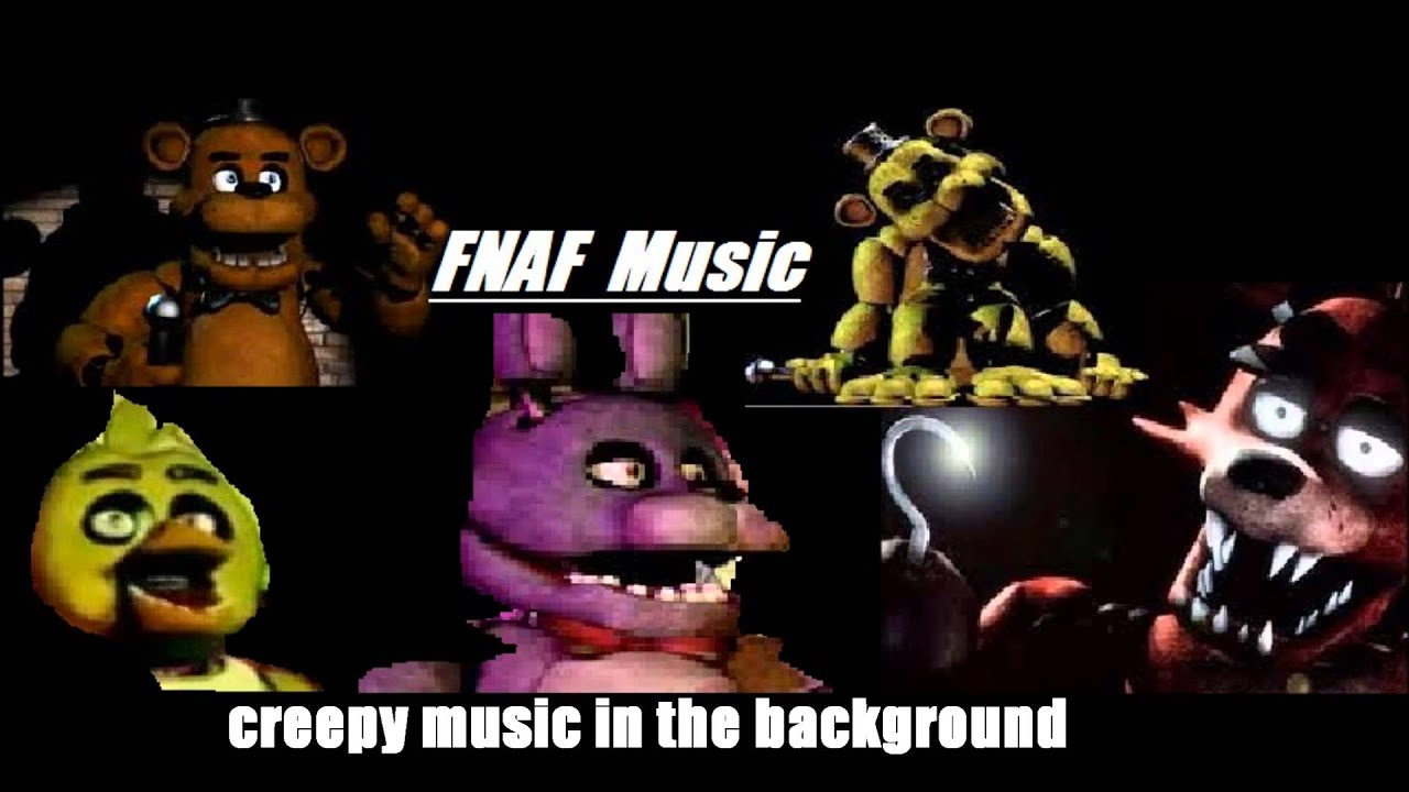 Sad Animation Wallpaper Fnaf Creepy Music In The Background Youtube