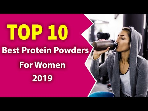 10 Best Protein Powders For Women (2019)-Healthy!
