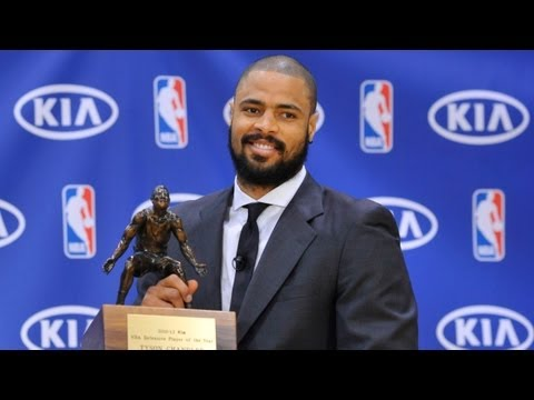 Tyson Chandler wins Defensive Player of the Year!