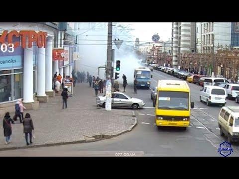 Возгорание легкового автомобиля. ул. Преображенская / ул. Пантелеймоновская