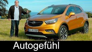 Vauxhall / Opel Mokka X FULL REVIEW test driven Facelift 2017 - Autogefühl