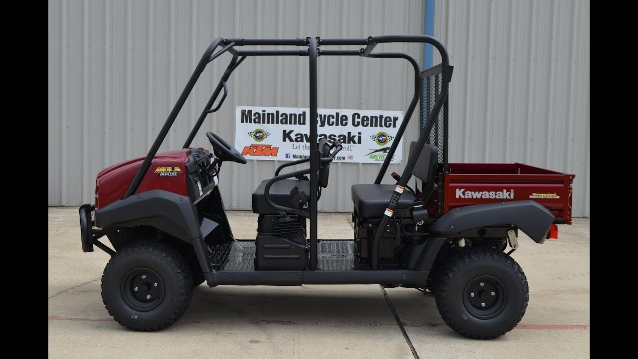 9 999 Kawasaki Mule Trans 4x4 In Dark Royal
