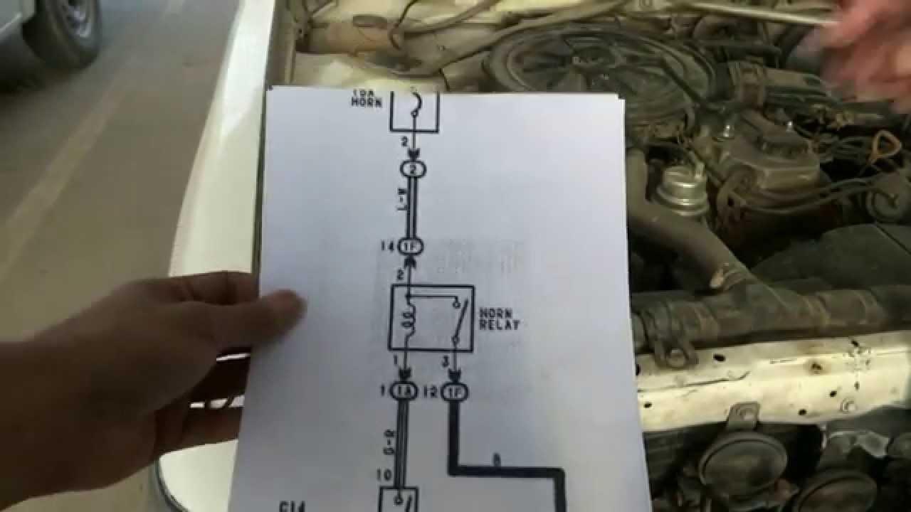 Wiring Diagram For 2001 Tundra Car Horn Repair Youtube
