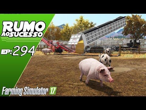 A ULTIMA REFEIÇÃO DOS PORCOS!   FARMING SIMULATOR 17 #294   PT-BR  