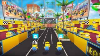ミニオンラッシュのレース動画四本目なんです。 よろしくお願いします。