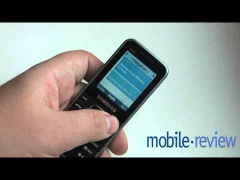 Samsung E3210 Обзор Demo