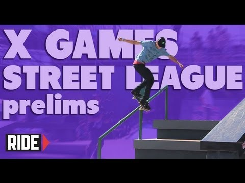 X Games Brazil 2013 - Street League Prelims with Nyjah, Malto, and More!