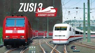 Немецкий железнодорожный тренажёр ► ZUSI 3 - Aerosoft Edition ◄ ZDSimulator по-немецки