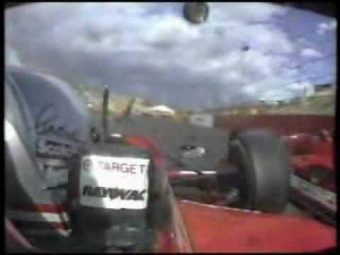 1994 CART Phoenix  Michael Andretti Crash