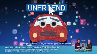 """Unfriend"" Your Old Ride!"