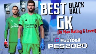 Best BLACK BALL GOALKEEPERS at max rating+level