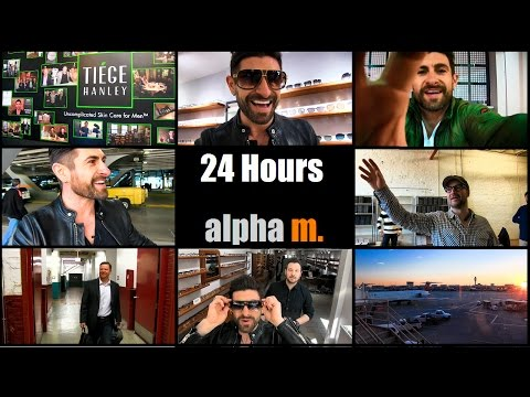 A Day In The Life Of Alpha M. | 24 Hour VLOG | Trip To Chicago And Tiege Hanley HQ