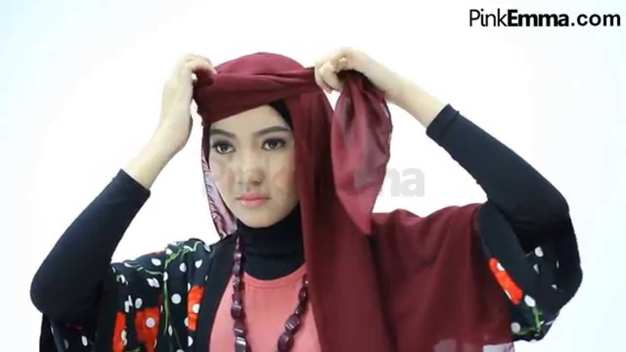 Tutorial Hijab Segi Empat Modern Youtube