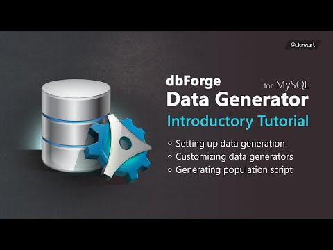 MySQL Data Generator For Realistic Test Data Producing