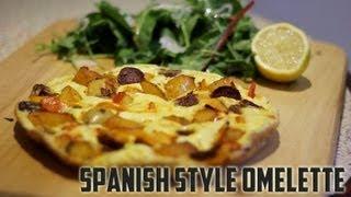 Spanish Style Omelette Recipe - Explosive Fitness