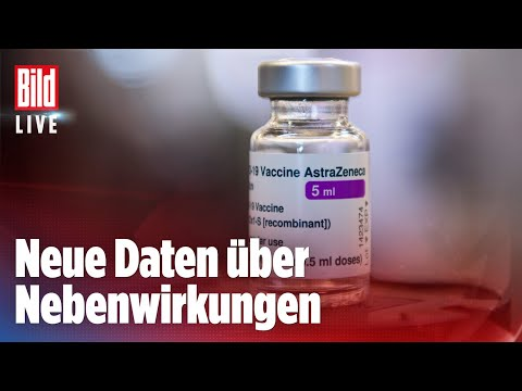 🔴 AstraZeneca-Stopp für alle unter 60 in Berlin   Bild Breaking News