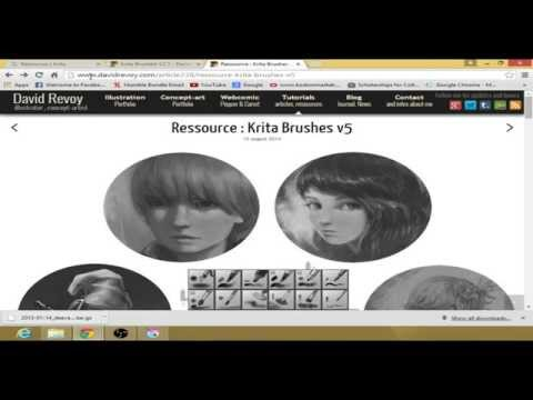 how to change colour of layer krita