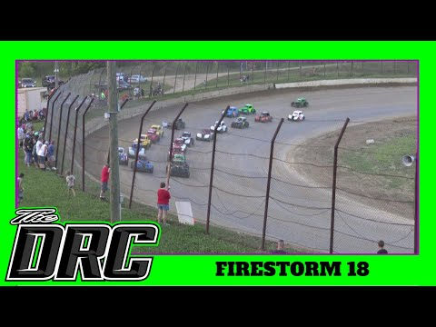 Brushcreek Motorsports Complex | 7/3/18 | Firestorm 18 | Ohio Valley Roofers Legends Cars