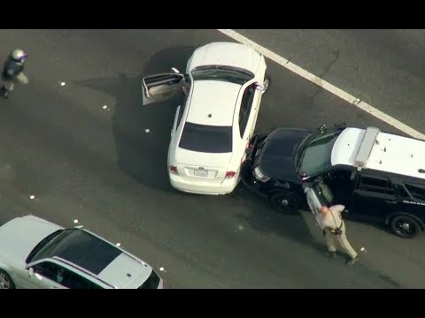 Los Angeles DUI Pursuit - Nov 15 2017