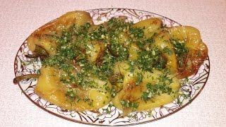 Жареный болгарский перец Как приготовить перец на сковороде