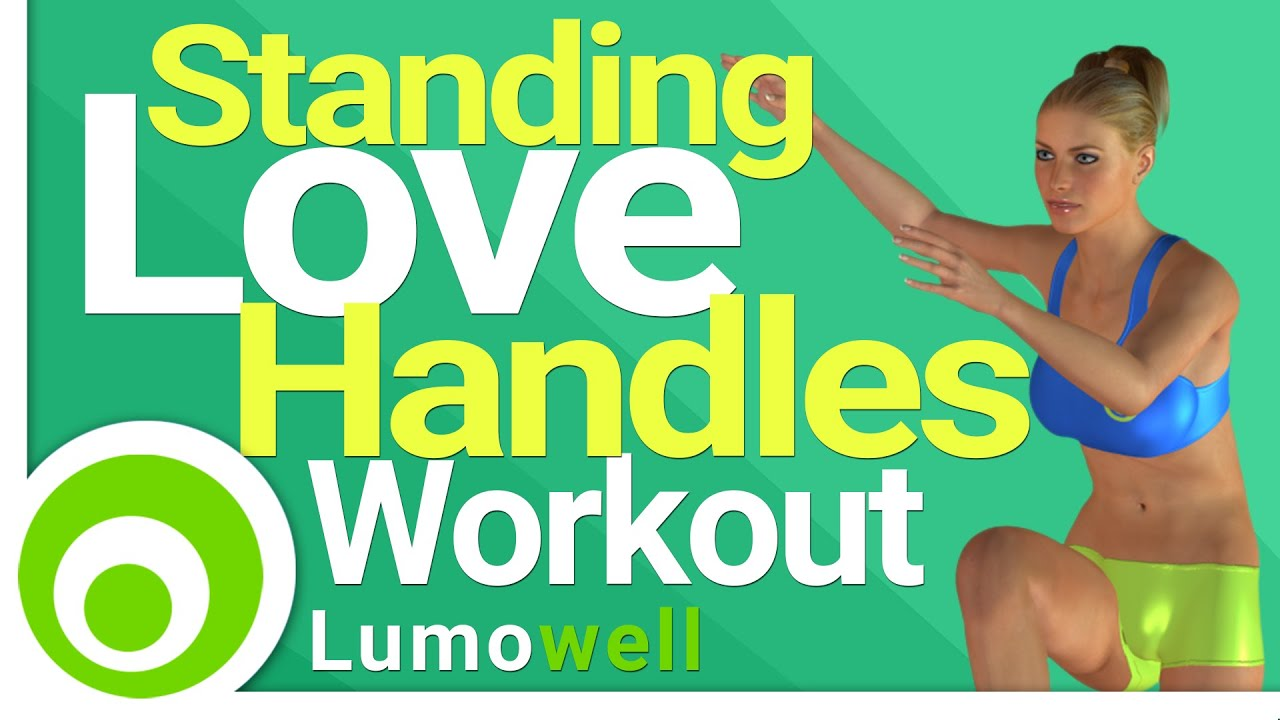 Standing Love Handles Workout. Exercises To Lose The